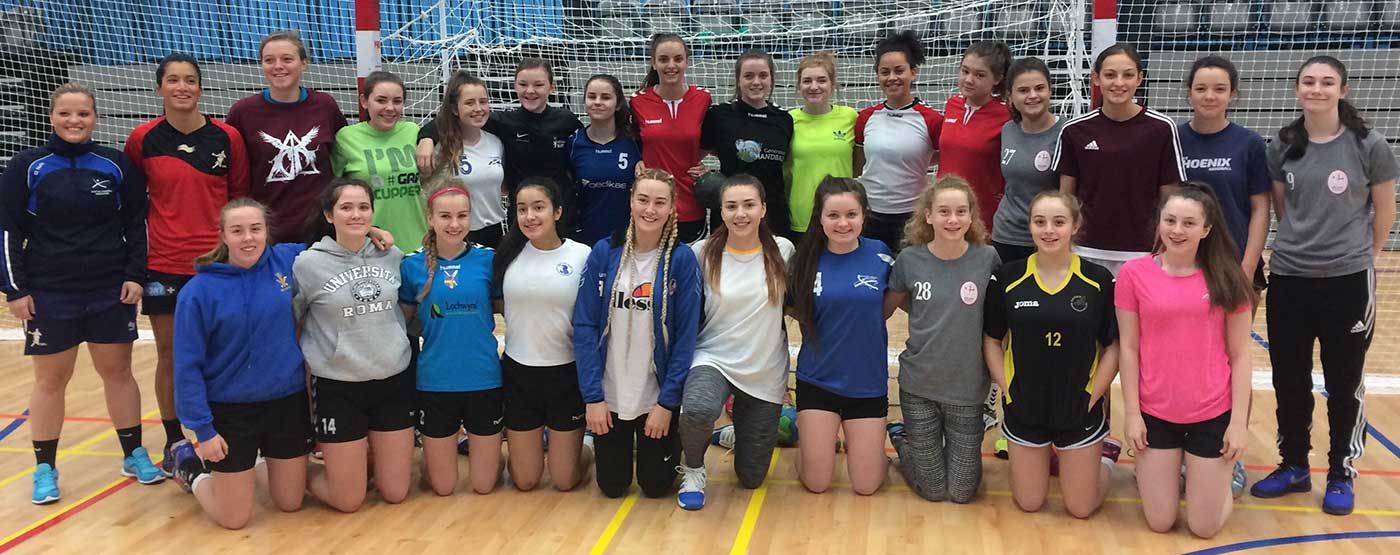 GB Women's Under 17 Handball Team