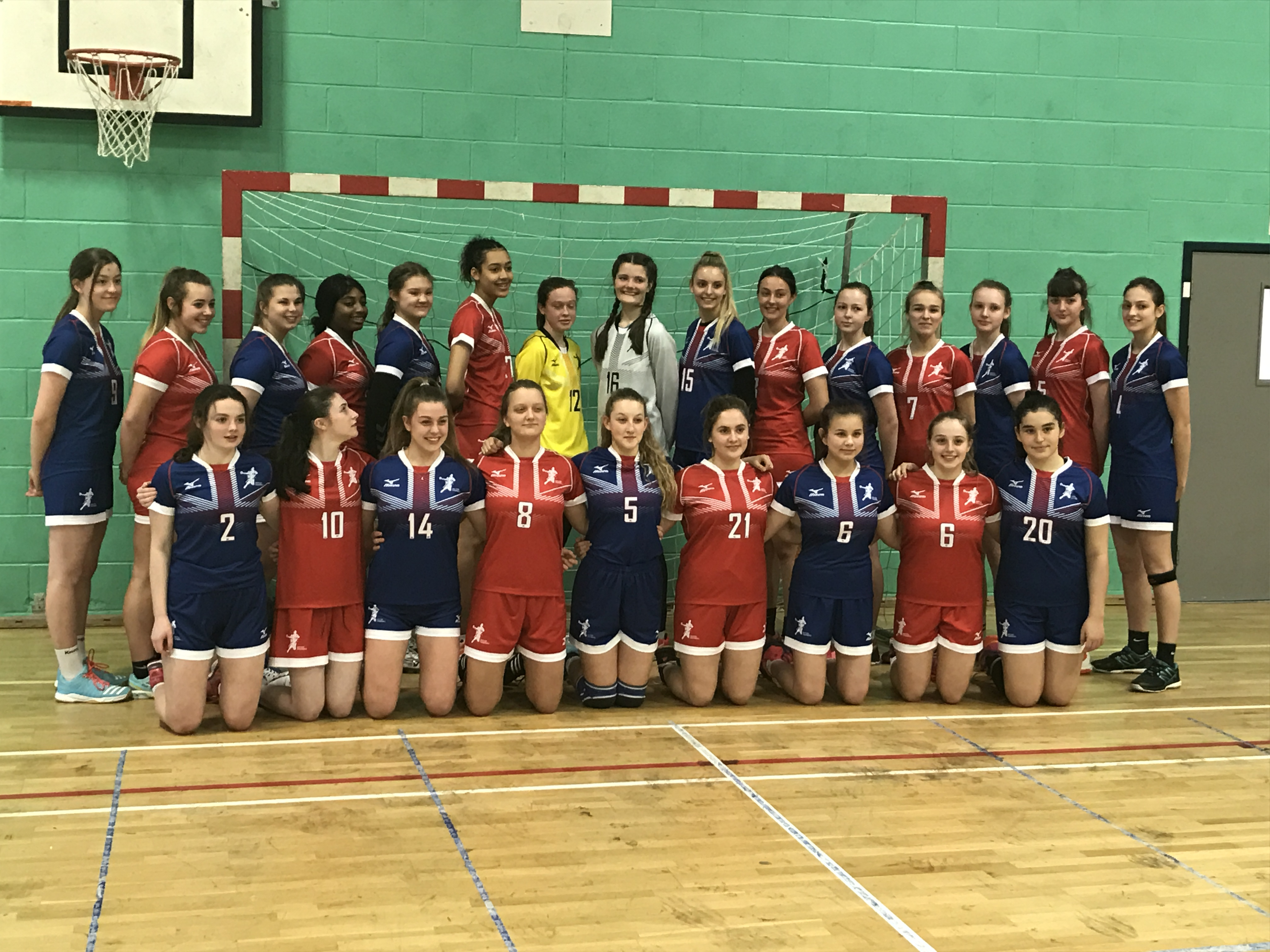 GB Women's Under 18 Handball Team